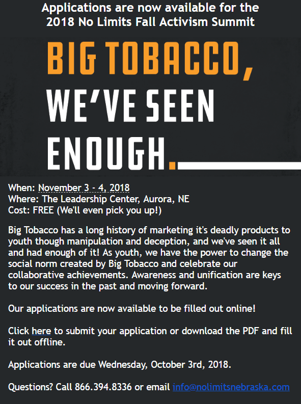 BigTobacco summit