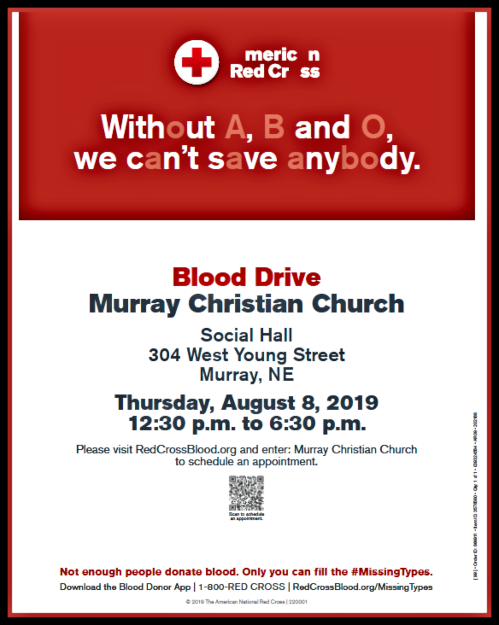 2019 07 17 MRY MCC Blood Drive Aug 8 2019