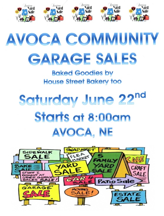 Avoca garage sales