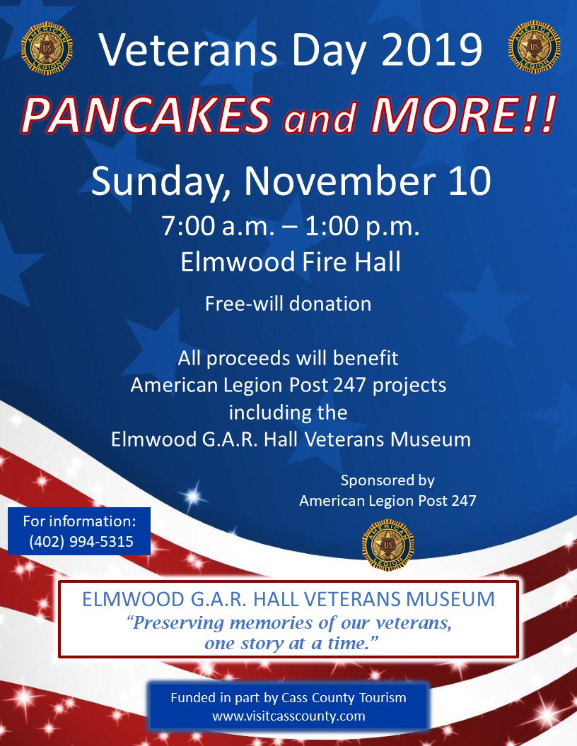 Veterans Day Pancake Feed 2019