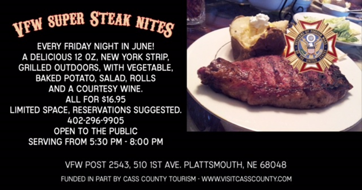 VFW steak nights